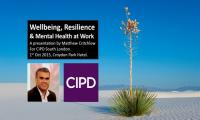 Wellbeing & Resilience @ Work 2015