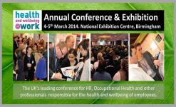 Health and Wellbeing At Work 2014