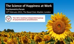The Science of Happiness at Work